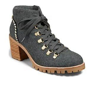 Jack Rogers Poppy Flannel Hiker Boot Sz9
